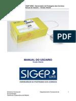 SigepWeb Versão Final Cliente