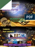 Tambang Kota Presentation2015