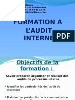 Formation Audit Qualité