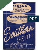 Mañana / Samba Sambita