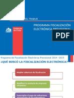 Plan Piloto de Fiscalizacion de deudas previsionales