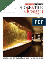 Contemporary Stone Tile Design Summer 2011