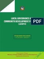 LGCDP Pogramme Document Phase II