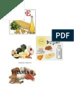 Makanan Vitamin a Hingga K