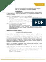 Reglamento Del Sistema de Adscripciones Para Estudiantes de Carreras de Grado