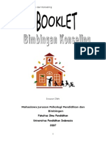 Booklet Bimbingan Dan Konseling