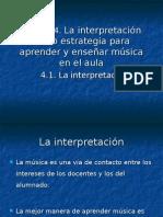 Estrategias para aprender y enseñar musica en el aula