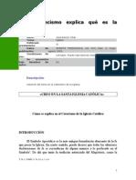 José Ramón Vilar - El Catecismo explica qué es la Iglesia.rtf