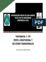 JTP Perfil Longitudinal y Transversal