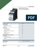 3rw4046 1bb14 Ac Semiconductor Starter Siemens Sirius Datasheet