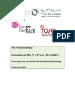 The FGM Initiative Final Report 2013