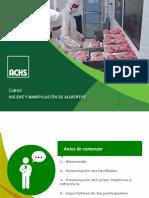 Higiene y Manipulación de Alimentos p