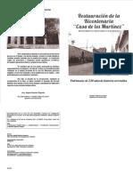 Restauración de la Bicentenaria Casa de los Martinez (1)