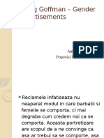 Erving Goffman – Gender Advertisements.pptx