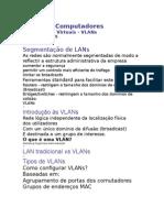 Configuração de vlan