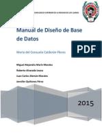 Diseñar y Crear Bases de Datos