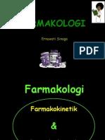 Farmakologi Kul2 Farmakokinetik Metab, Ekskresi 2012