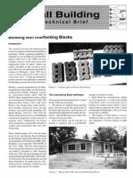 Interlocking Bricks, ein technisches Merkblatt