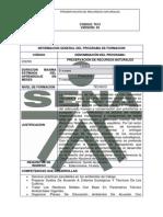 Estructura Curricular Tecnica Sena