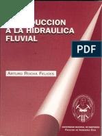 Introduccion a La Hidraulica Fluvial - Arturo Rocha Felices