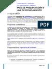 Programación y Lenguaje de Programación