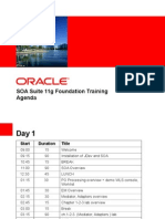 SOA 11g Foundation - 00 - Agenda