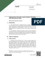 Secretary-General Report on Syria, April 2015