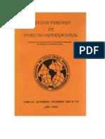 Revista Peruana de Derecho Internacional N° 123 - 2003