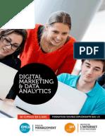 Bi Cursus Digital Marketing & Data Analytics IIM/EMLV 2015