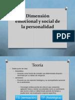 Dimensión Emocional y Social de La Personalidad