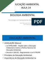 Educação Ambiental Aula14 2014