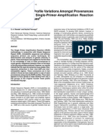 Assessment of Profile Variations Neem SPAR