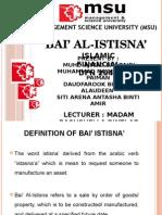 Islamic Financial - Bai Al-Istina