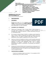 Poder Judicial Ordena Reposicion de Carlos Paolo Chavez Llanos