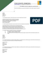 PSU - Estructura, Organización y Actividad Celular - Preguntas