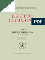 Doctor Communis - Pont. Acad. Sancti Thomae Aquinatis