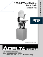 Delta Industrial 28-348 _ 14 Inch Metal Wood Cutting Bandsaw