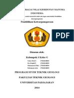 Makna Pancasila Sebagai Nilai Kehidupan Manusia Indonesia