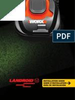 WORX Landroid M Robotic Mower WG794 Installation Guide