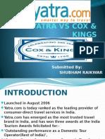 Yatra vs Cox & Kings