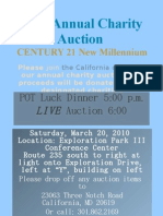 2010 Annual Charity Auction