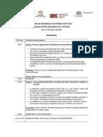 Programa  final Agenda de Desarrollo Sostenible Post 2015 evento 31 de marzo.pdf
