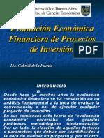 Evaluacion de Proyectos de Inversion