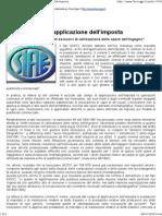 Diritti d'Autore e Applicazione dell'Imposta