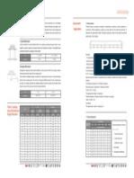 Tabela Movimento Angular e Linear - Acoplamento Flexível