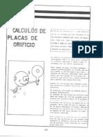 Calculo Placas Orificio Pemex
