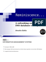 Reminiscence IMS Session