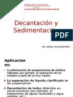 001 Decantacion y Sedimentacion