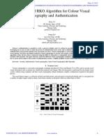 An Improved RKO Algorithm for Colour Visual
