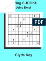 Solving Sudoku Using Excel